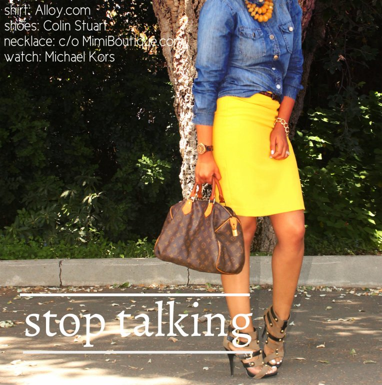 denim-chambray-pencil-skirt-louis-vuitton-colin-stuart-office-work-fashion