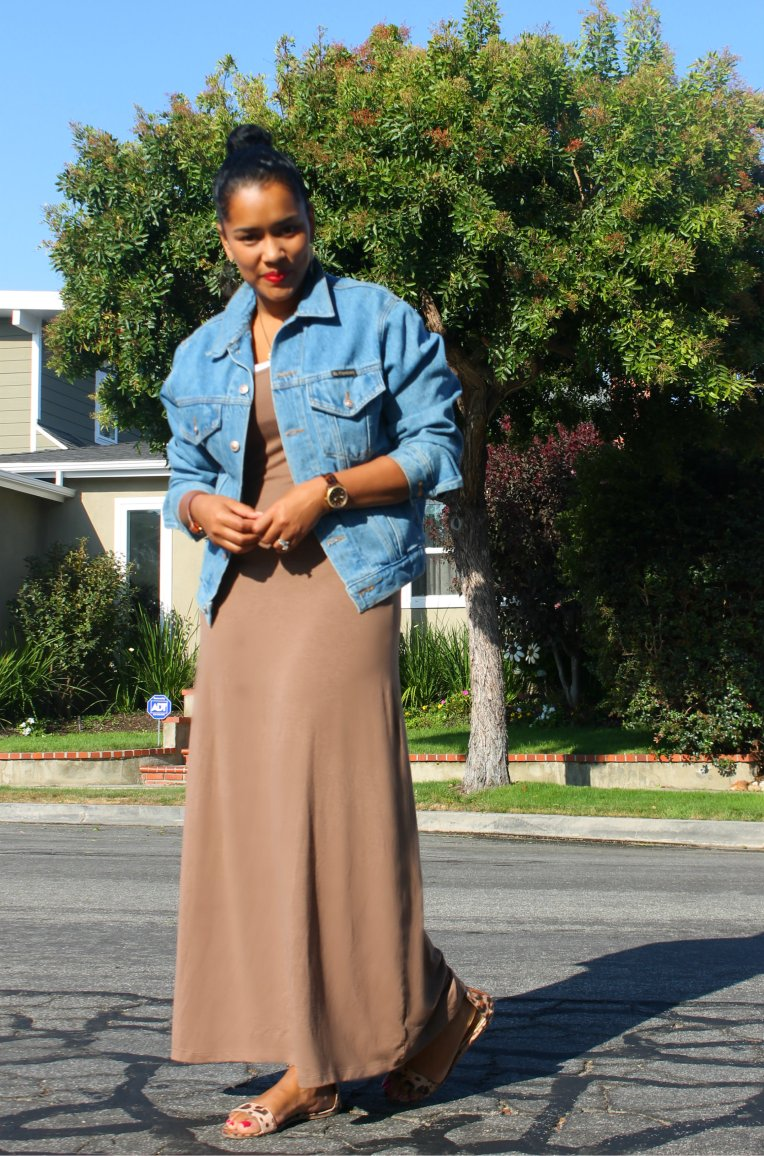 alloy-maxi-dress-jean-jacket-thrift-lipstick