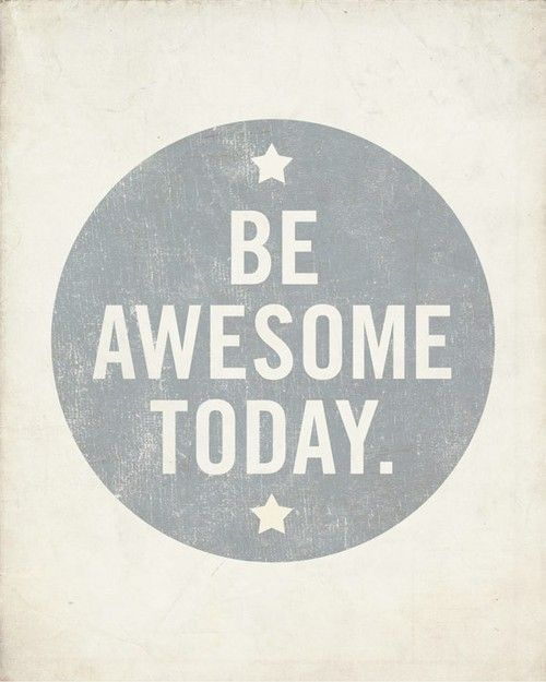 FASHION DU JOUR | be awesome today