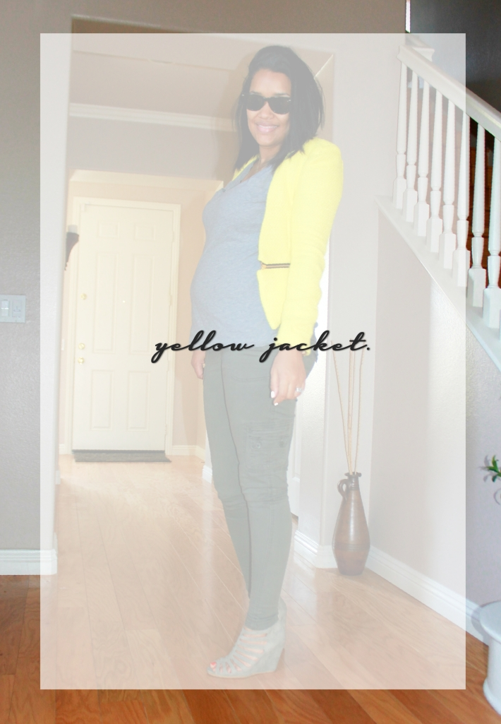 FASHION DU JOUR | How to wear a yellow jacket easter