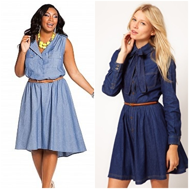 FASHION DU JOUR | How to wear a denim dress