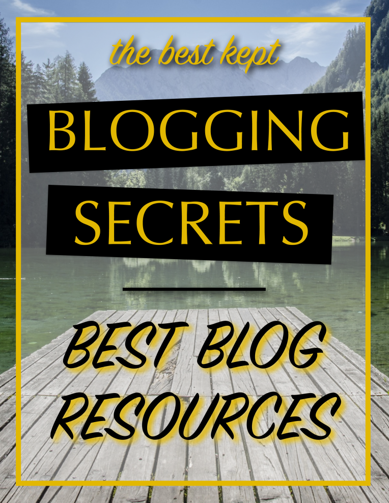 Best Kept Blogging Secrets Blog Resources